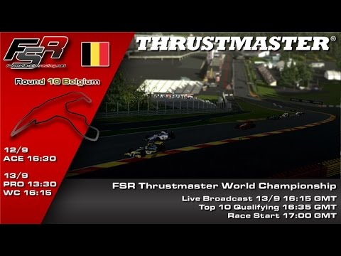 FSR 2015 Broadcasts - Thrustmaster World Championship Round 10, Belgium