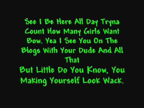 Chris Brown Ft. Bow Wow Aint Thinking About You Lyrics video