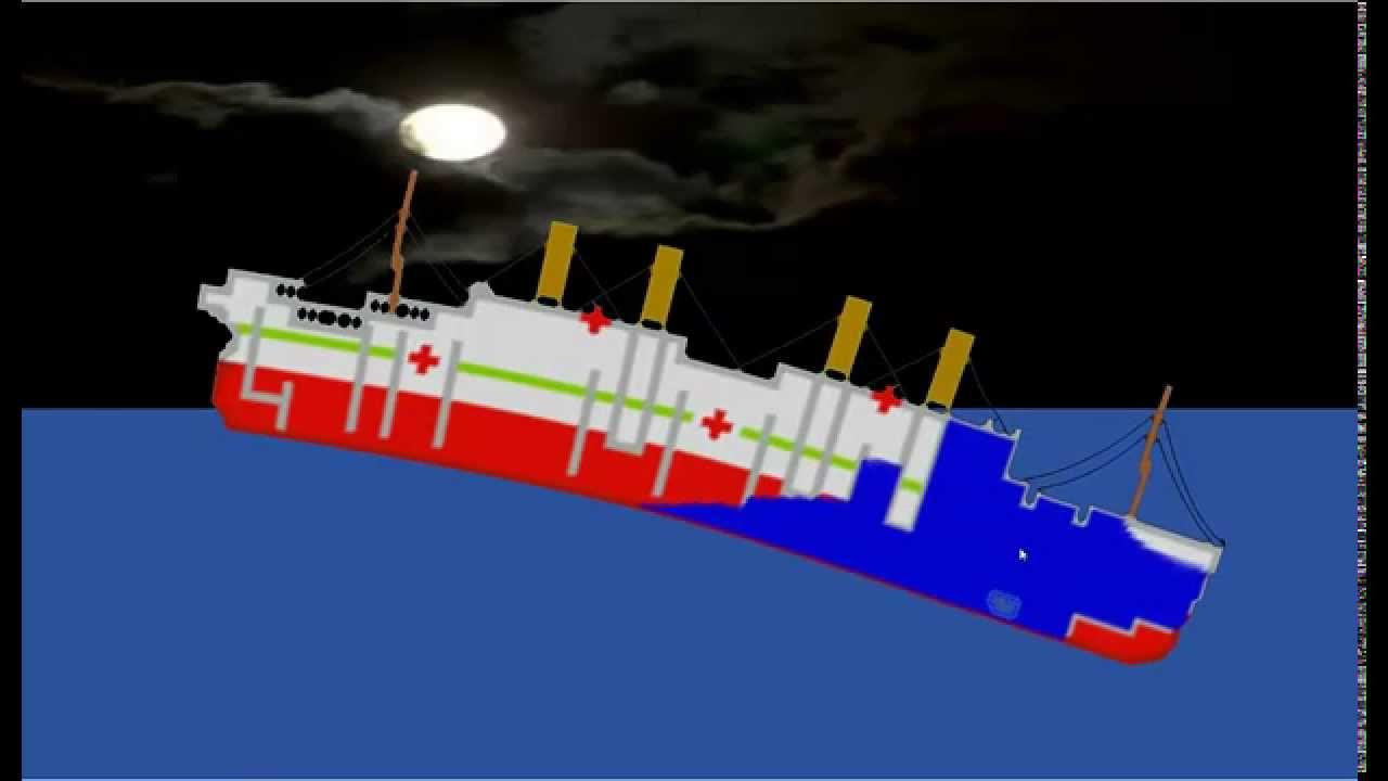 Britannic Sinking Simulator Sinking Simulator Britannic