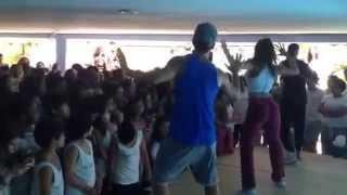 Grupo `Fit Dance` na Terça Cultural Gregor Mendel - 03/11