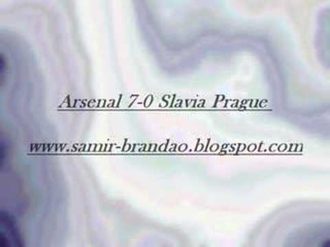 Arsenal 7 0 Slavia Prague