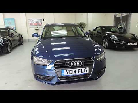 2014 Audi A4 2.0 TDI 177 BHP Technik With Cream Leather For Sale In Cardiff