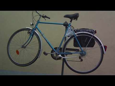 Homemade 300W 35km/h Electric Bicycle for 100€