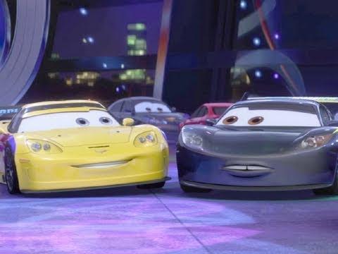 "Cars 2 Movie Clip ""LewisHamilton/JeffGorvette Cameos"" Official (HD)"
