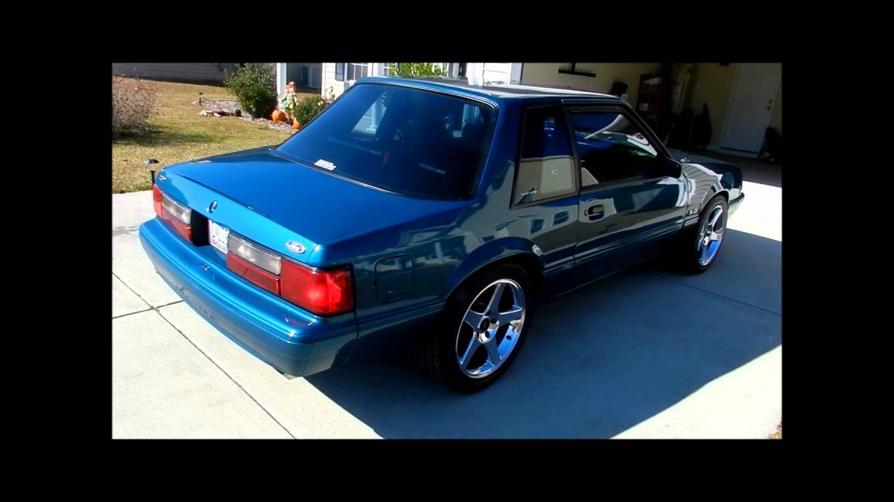 MY REEF BLUE 93 COUPE - YouTube