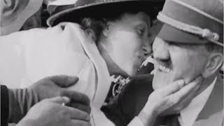 Adolf Hitler kissed by American woman in shocking