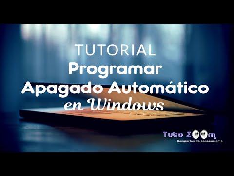 Tutorial Programar Apagado Automático en Windows 7 (Sin Programas)
