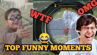 Free Fire Top Funny Moments | FF Comedy WTF OMG Moment Videos | Free Fire Hindi Comedy
