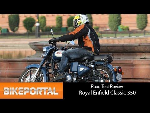 Royal Enfield Classic 350 Test Ride Review - Bikeportal