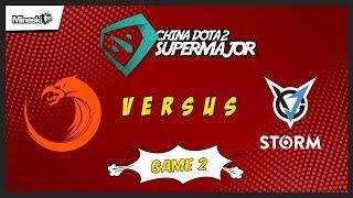 TNC Predator vs VGJ Storm | Bo3 | China Dota 2 Supermajor | Lower Bracket | Game 2