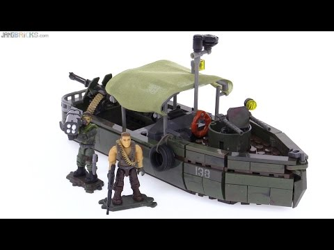 Mega Bloks Call of Duty Riverboat Raid set review