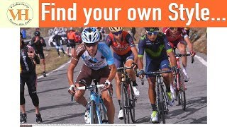 Cycling Style - look like a pro while developing your own cycling style