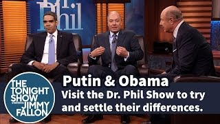 "Putin & Obama Go On ""Dr. Phil"" Show"