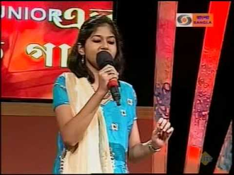 De Di Hame Azadi-pre-quarter Final Round-eto Sur Eto Gaan-junior-competition-dd Bangla-jhinuk Basu video