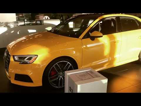 2017 Audi S3 Technik Quattro in Vegas Yellow