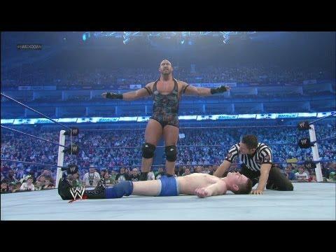 Ryback vs. local athlete: SmackDown - April 20, 2012