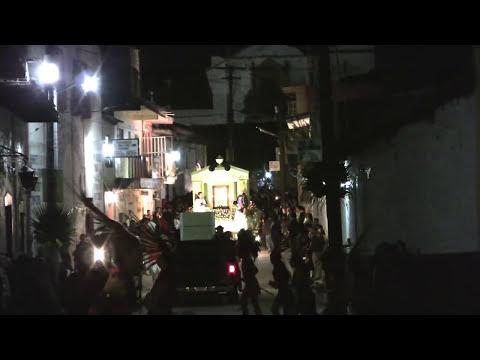 churintzio michoacan,  barrio de el ranero dia 9 2009 peregrinacion