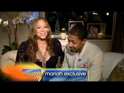 (part 3) Yes, we're pregnant Access Hollywood - Mariah Carey