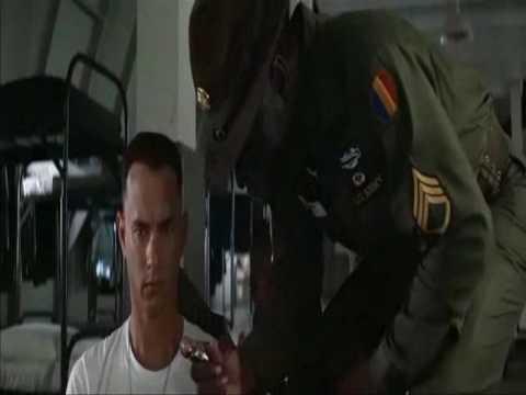 Forrest Gump dans l'armée