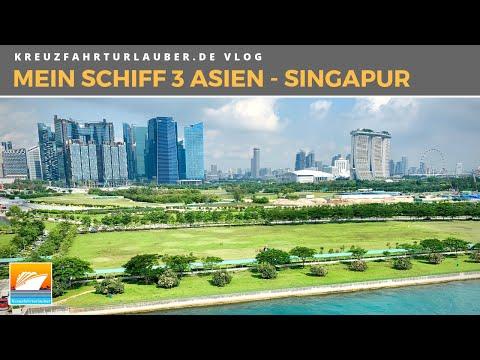 #Vlog1 Mein Schiff 3 Asien - 2 Tage Singapur entdecken