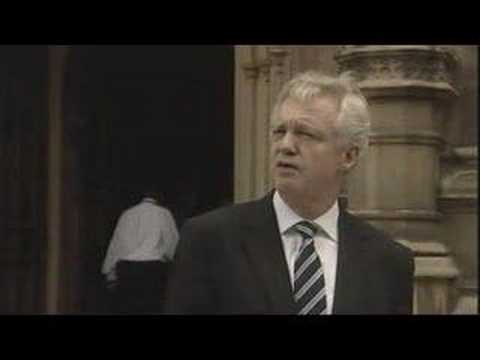 David Davis resignation speech