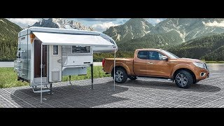 Tischer Pick Up camping unit on Ford Ranger