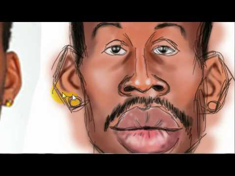 Poppino Art - Kinsey caricature drawing