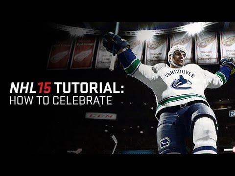 NHL 15 секреты и советы: Как праздновать...