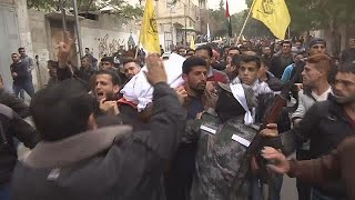 Funerals for Gaza Palestinians held