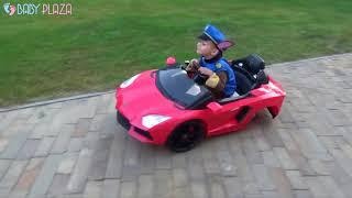 [Góc giải trí] Đẳng cấp của siêu xe oto điện trẻ em là đây