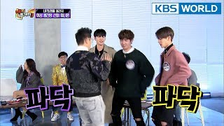 Wanna One can't hold in their excitement! [Happy Together/2018.01.18]