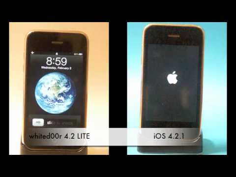 whited00r 4.2 vs iOS 4.2.1 [OFFICIAL VIDEO]