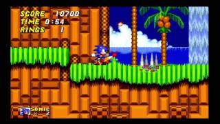 Sonic 2: Emerald Hill Challenge: No jumping