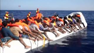 VOA Amharic- 6500 asylum-seekers saved off Libya on Monday