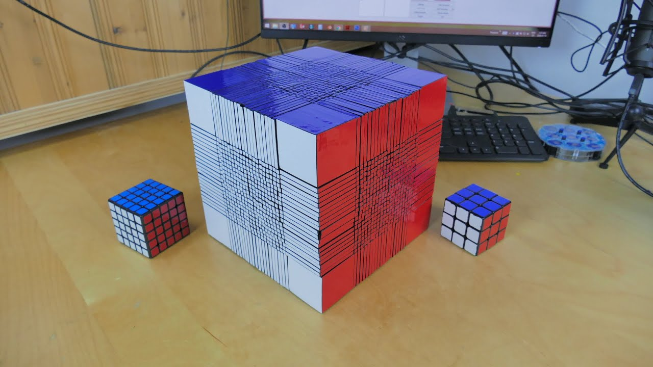A Fascinating Look At The Largest, Most Complicated Rubik's Cube Of All-Time