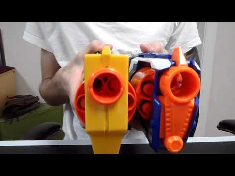 Review: Nerf Elite Strongarm Unboxing and Demo (The maverick reimagined)