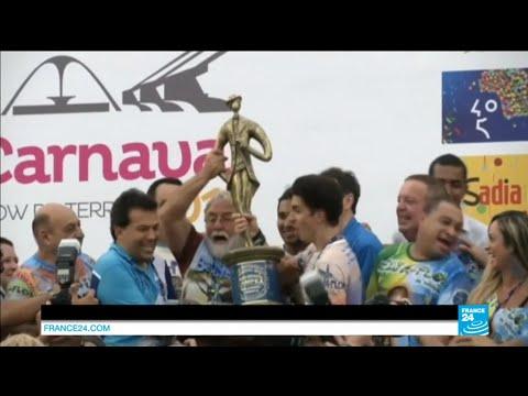BRAZIL - Samba school winners of Rio de Janeiro Carnival