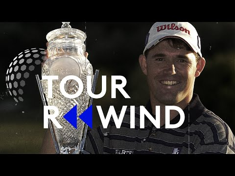 Pádraig Harrington wins season-ending 2001 Volvo Masters | Tour Replay