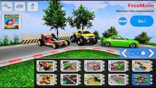 Test drive first time RC monster truck RC drift RC buggy free ride mode exploring the track