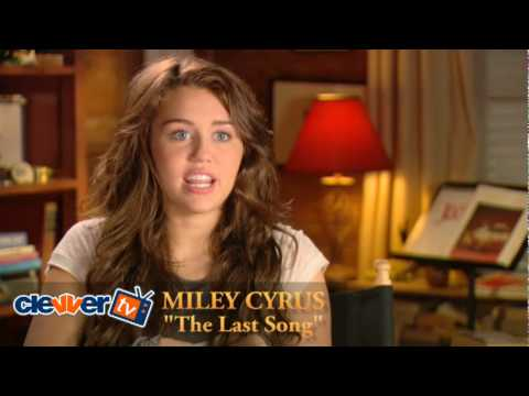 Miley Cyrus The Last Song Interview Video