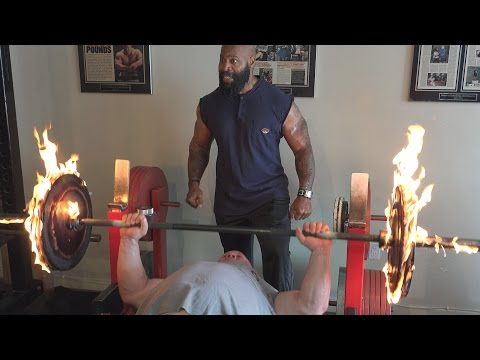 Burning Bench Press with Scot Mendelson & CT Fletcher Image 1