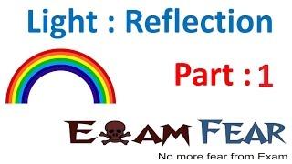 Physics Light Reflection & Refraction part 1 (Introduction) CBSE class 10 X