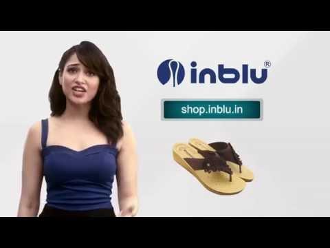 Inblu Footwear New Hindi TVC Featuring Tamannaah Bhatia