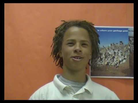 Harden Middle School Recyles 2010