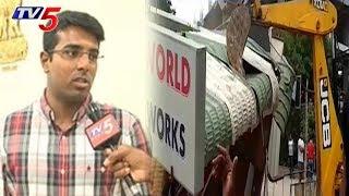 గ్రేటర్లో ఫుట్పాత్ ఆక్రమణల తొలగింపు | GHMC Enforcement Officer Viswajith Face To Face | TV5