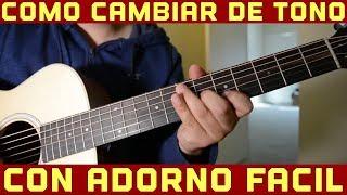 Adornos Faciles en Guitarra para Cambiar de Tono