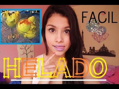 ¡¡HAZ HELADO FACIL Y RAPIDO!!  | RECETA  | AZUL