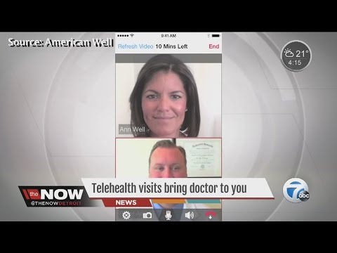 Telehealth visits brings the doctor to you