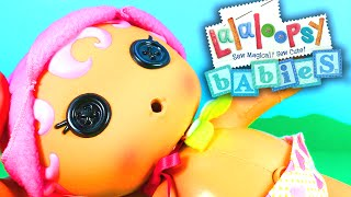 Lalaloopsy Babies Diaper Surprise Blossom Flowerpot Doll Unboxing and Toy Review