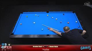2018 US Open 8-Ball Championship: Dennis Hatch vs Brandon Shuff